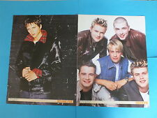 West Life, O -Town and Ritchie Five Double Sided Poster - £4.99 New Free P & P