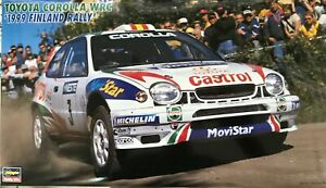 Hasegawa 1/24 Toyota Corolla WRC 1999 Finland rally