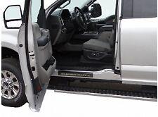 2017-2020 Ford Super Duty Black Chrome Door Sill Plates 4 Pc. Crew Cab