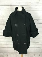 Women's NEXT Coat/Jacket - UK8 - Black - Double Breasted - Great Condition