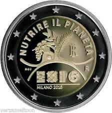"""ITALIE SPECIALE 2 EURO 2015 UNC """"EXPO"""""""