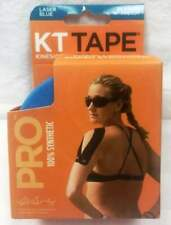 "KT Tape Pro Kinesiology Therapeutic Tape Laser blue 20 Precut 10"" Strips"