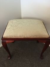 DRESSING TABLE /BEDROOM STOOL Queen Anne Style VINTAGE/ANTIQUE FURNITURE DISPLAY