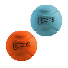 New Chuckit! Fetch Ball-High Bounce-Durable Rubber-Dog Toys Compatible Launchers