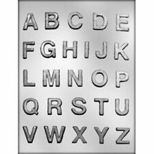 1 inch Letters Alphabet Chocolate Candy Mold from CK 14242