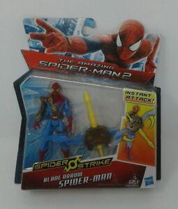 Marvel Spider-Man 2 The Amazing spider Strike Hero Hasbro Action Figure NOS NIB