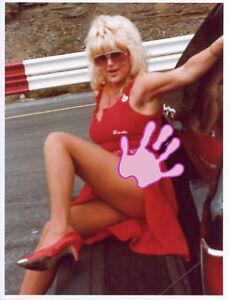 LINDA VAUGHN MISS HURST LEGGY PINUP PHOTO LV 1