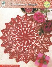 Victorian Holiday Crochet Pattern - Christmas Magic HOWB Doily Series