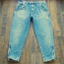 H&M Damen-Jeans aus Denim mit hoher Bundhöhe