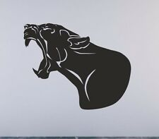Panther Puma Cougar Mountain Lion Head. Wall Decal Sticker Art Any Size/Colour