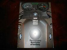 NOS BMW OEM 1983 R80 R65 CS G/S RT ST Brochure 11 pgs