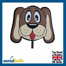REDUCED...Hound Dog Car Aerial Ball Topper or use as Desk/Dashboard Wobbler!