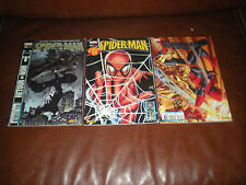 SPIDER-MAN MENSUEL - LOT 3 TOMES N°96, 109 ET 119 - MARVEL PANINI 2008 / 2009