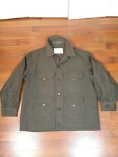 60s Vintage Filson Work Green Union Usa Made Wool Hunting Jacket