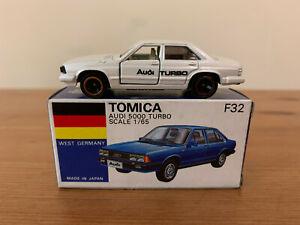 Tomica F32 Audi 5000 Turbo Made In Japan