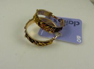 goldtone sequin hoop Earrings earring Jewelry Pierced Claires