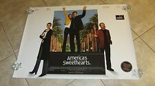 AMERICAS SWEETHEARTS movie poster JULIA ROBERTS poster, CATHERINE ZETA JONES