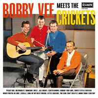 BOBBY VEE & THE CRICKETS-MEETS THE CRICKETS-JAPAN MINI LP CD BONUS TRACK B57