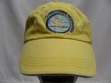 CLARK COUNTY, WASHINGTON - YELLOW - ADJUSTABLE BALL CAP HAT!