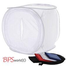 50cm Photo Studio Light Tent Softbox Soft box Cube 4 Color Backdrop Background