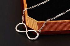 Halskette Unendlichkeit INFINITY Eternal Love Liebe Silber Muttertag Geschenk