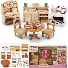 Plastic Dollhouse Furniture Miniature Lot Kit Set Mini Handmade Girl Accessories