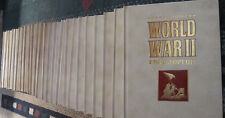 COMPLETE SET OF ILLUSTRATED WW2 ENCYCLOPEDIA BOOKS, 24 VOLUMES