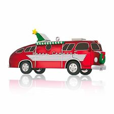 HALLMARK KEEPSAKE Ornament 2014 - Happy Campers - Vintage Motorhome - MIB