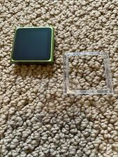 Apple iPod nano 16 GB 6th Generation Green - Original Owner No Screen Scratches!