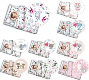 BABY BEDDING SET PILLOWCASE DUVET COVER 2PC FIT COT COTBED BABYMAM NEW DESIGNS