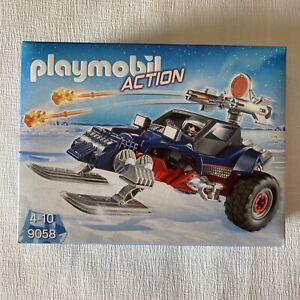 "PLAYMOBIL® Action 9058 ""Eispiraten-Racer"" Polarstation NEU/OVP!"