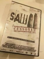 Dvd  SAW  CENSURADO  DECIDE RAPIDO O MUERE DESPACIO ( CARTEL CENSURADO EN USA )