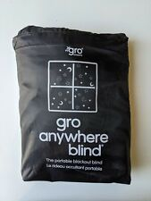 The Gro Company Anywhere Travel Blackout Blind With Suction Cups 198cm X 130cm