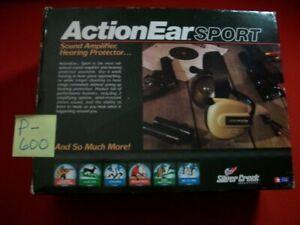 SILVER CREEK INDUSTRIES ACTION EAR SPORT HEARING PROTECTOR/AMPLIFIER CAMO MODEL