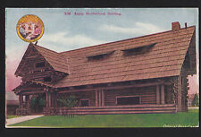1909 AYPE exposition Artic Brotherhood building Seattle Washington postcard