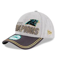 finest selection 5b991 4331d ... czech nfl carolina panthers era 2015 nfc champions 9forty locker room  hat ad472 2d6ac