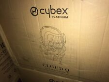 Cybex Platinum Cloud Q PLUS WITH LOAD TO LEG BASEInfant CarSeat  LIMESTONE/KHAKI