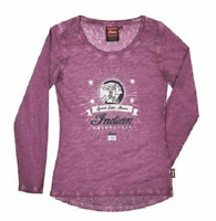 Indian Motorcycle Genuine Apparel 2867668XX Womens Lace-back Stars Tee