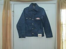 VINTAGE DEADSTOCK ROUNDHOUSE DENIM JACKET 40'S TO 50'S VERY RARE SIZE SMALL