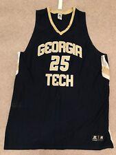 Georgia Tech Basketball Jersey - Blue