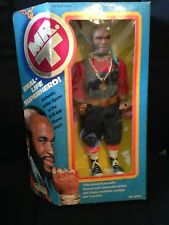 Mr. T A team 1983 action figure doll #8501 with box