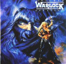 CD - Warlock  - Triumph And Agony - A14