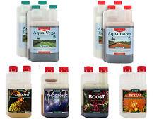 Canna Aqua Vega And Aqua Flores 1L Nutrient Kit