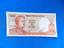 1974 Chile 10,000 Escudos Banknote *P-148*        *UNC*