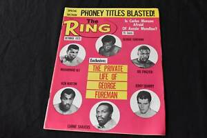 Vintage The Ring Boxing Magazine October 1973 Edition, 99p Start
