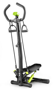 Twist Stepper With Column  Noble Lime Gym Aerobic Workout Machine Stepping