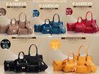 2017 NEW Hot Women Set shoulder Bag 6PCS satchel handbag fashion handbags L