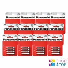 48 PANASONIC ZINC CARBON AAA LR03 BATTERIES BLISTER 1.5V MICRO MN2400 E92 NEW