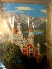 New listing Vintage Bernat King Ludwig'S Castle Stitchery Kit # So 9062