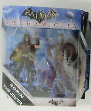 Batman Arkham City Legacy Edition Robin & The Joker Figures Sealed Mattel 2011